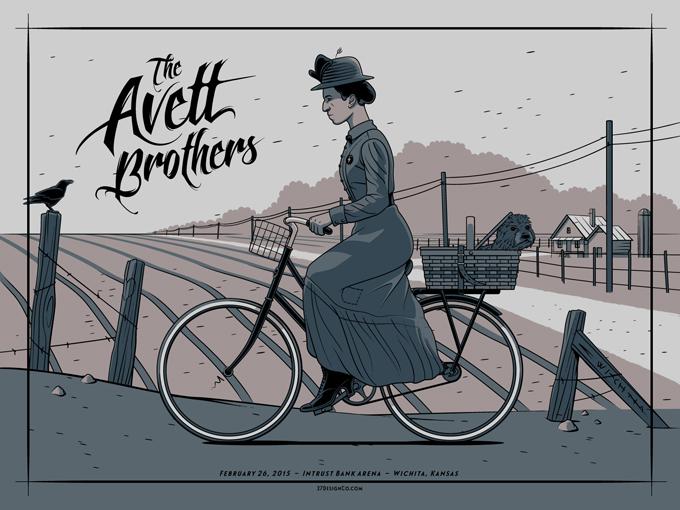 crisler The Avett Brothers - Wichita, KS 2015