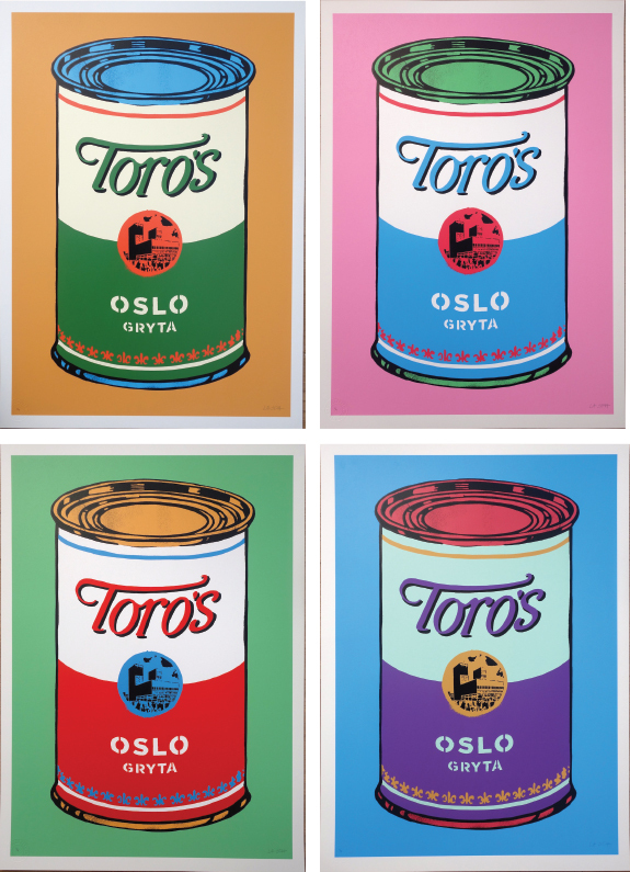 """""""Soup Cans"""" by La Staa"""