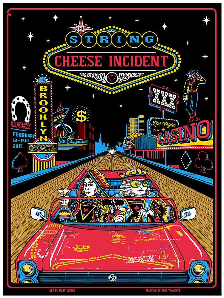 leunig String Cheese Incident - Las Vegas, NV 2015