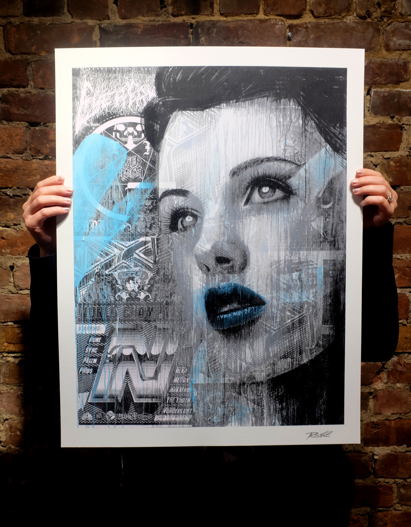 rone A Global Street Art Story blue