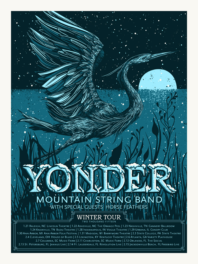 vogl Yonder Mountain String Band - Winter Tour 2015