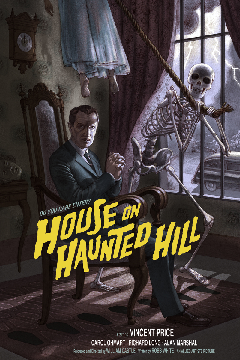 burton House On Haunted Hill