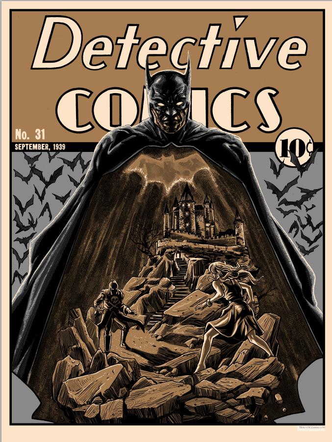 doyle Detective Comics 31 Metallic Variant