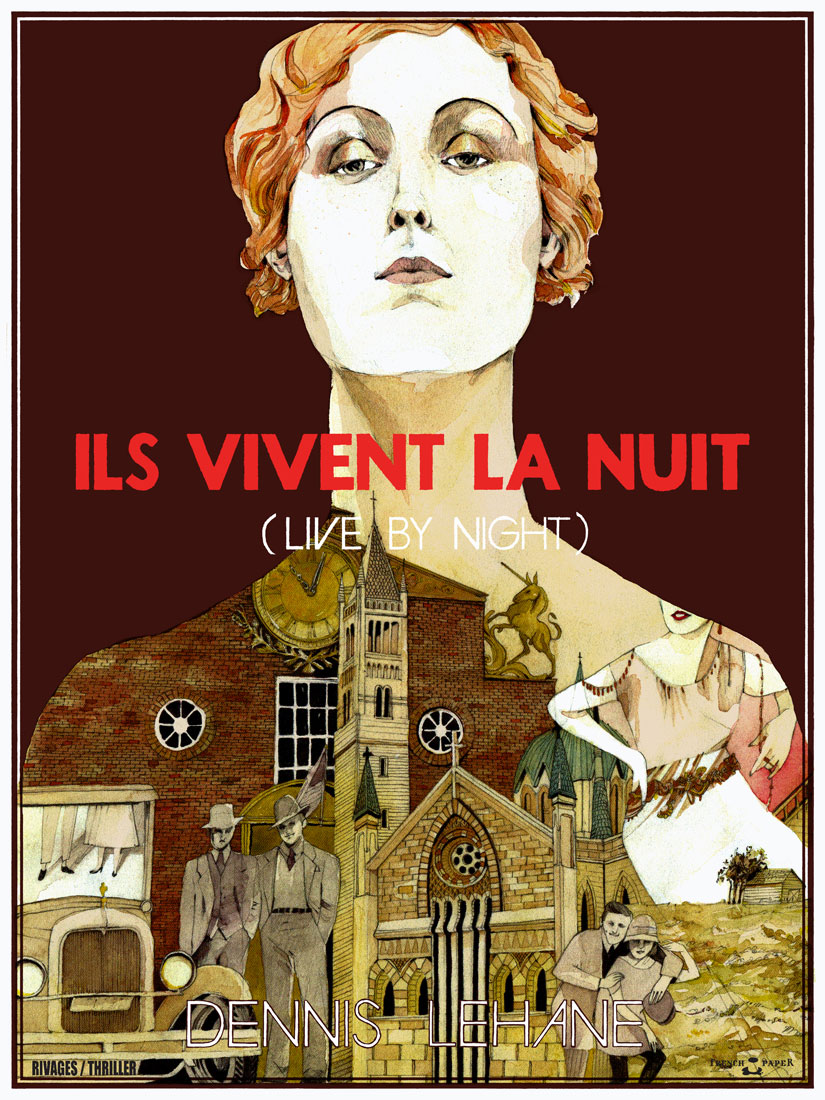 LandLand - Ils Vivent la Nuit for French Paper Art Club