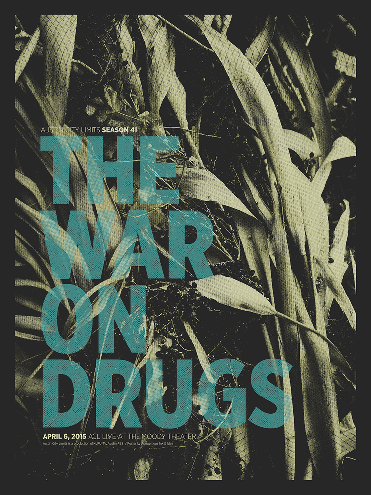 anonymous ink the war on drugs acl 2015