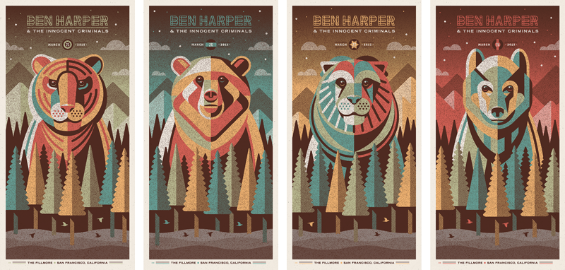 dkng Ben Harper & The Innocent Criminals - San Francisco, CA 2015