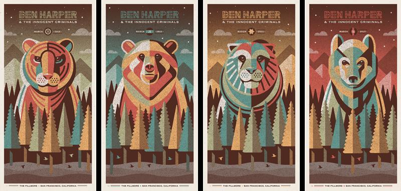 dkng Ben Harper & The Innocent Criminals - San Francisco, CA 2015