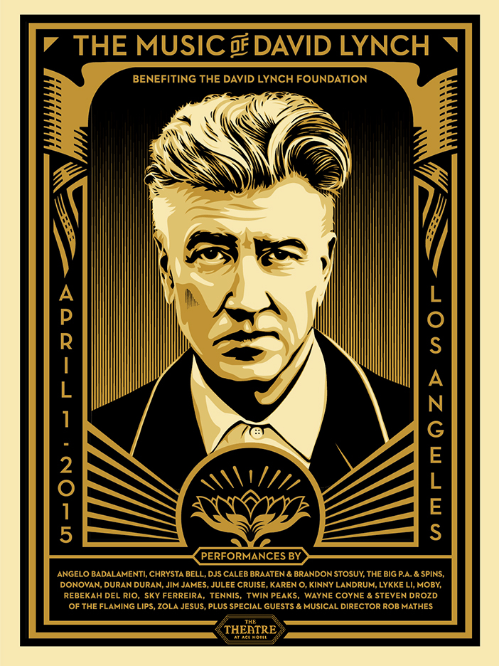 fairey The Music of David Lynch