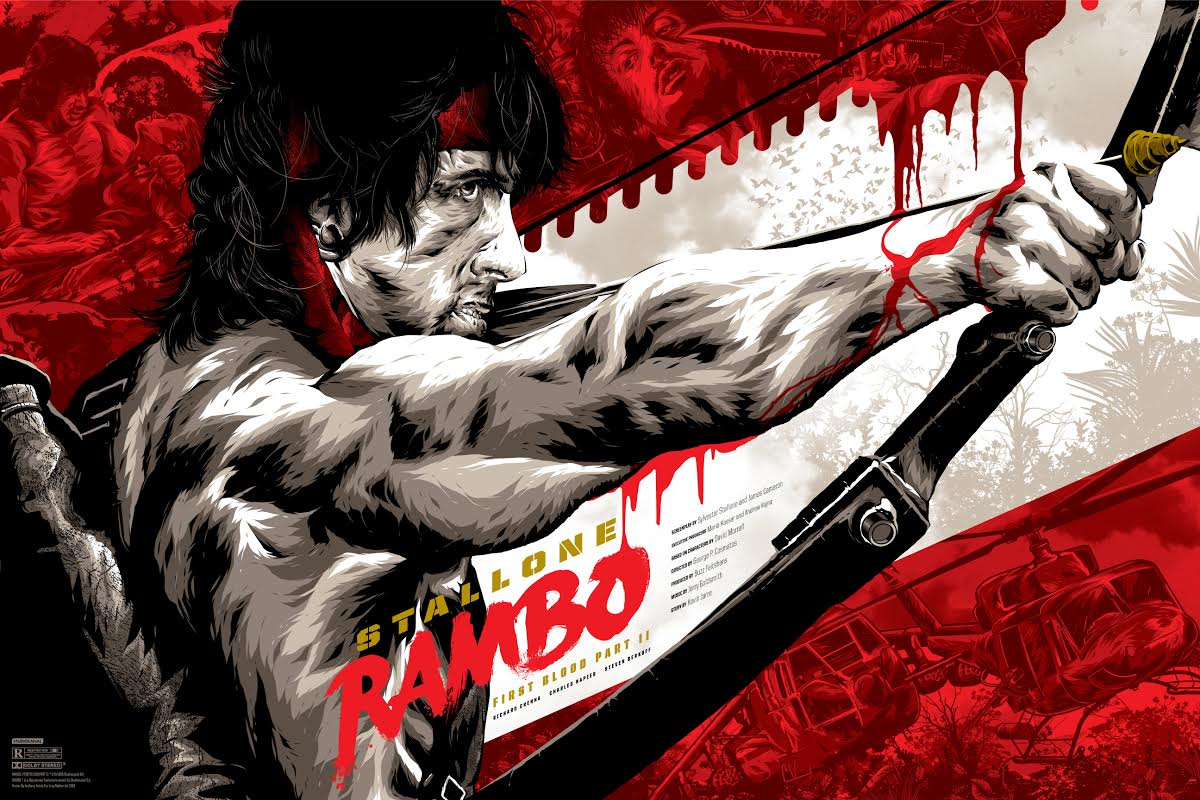 petrie Rambo First Blood Part II