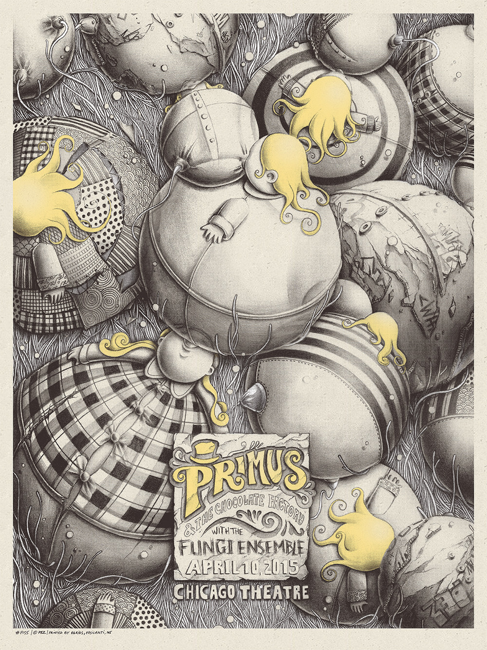 pez Primus & The Chocolate Factory - Chicago, IL 2015 mono