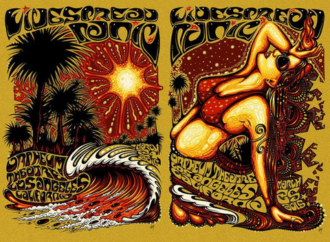 wood Widespread Panic - Los Angeles, CA 2015