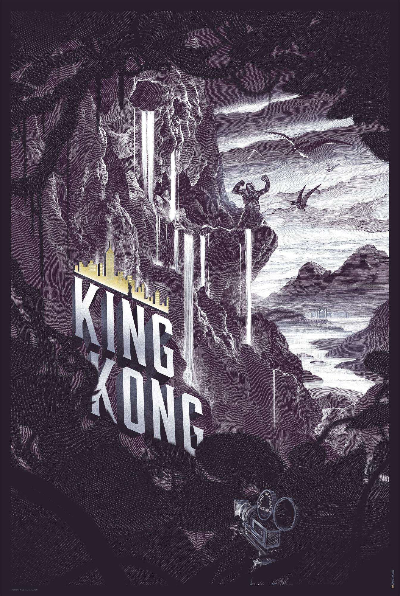 KING KONG-CANVAS LAVENDER