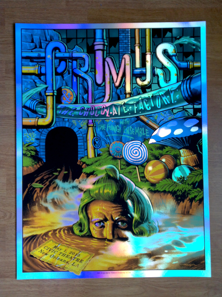 edmiston Primus - New Orleans, LA 2015 foil