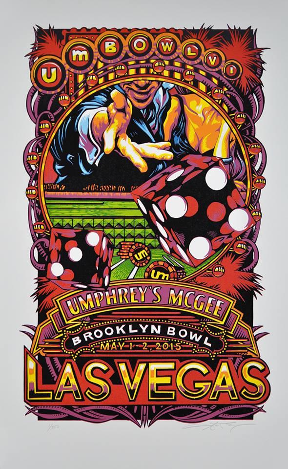 masthay Umphrey's McGee - Las Vegas, NV 2015