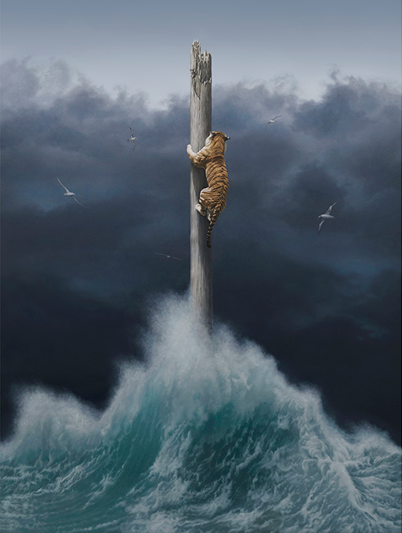 """Conquest"" by Joel Rea.  60 x 45.5cm Giclee.  Ed of 50 S/N.  $195"