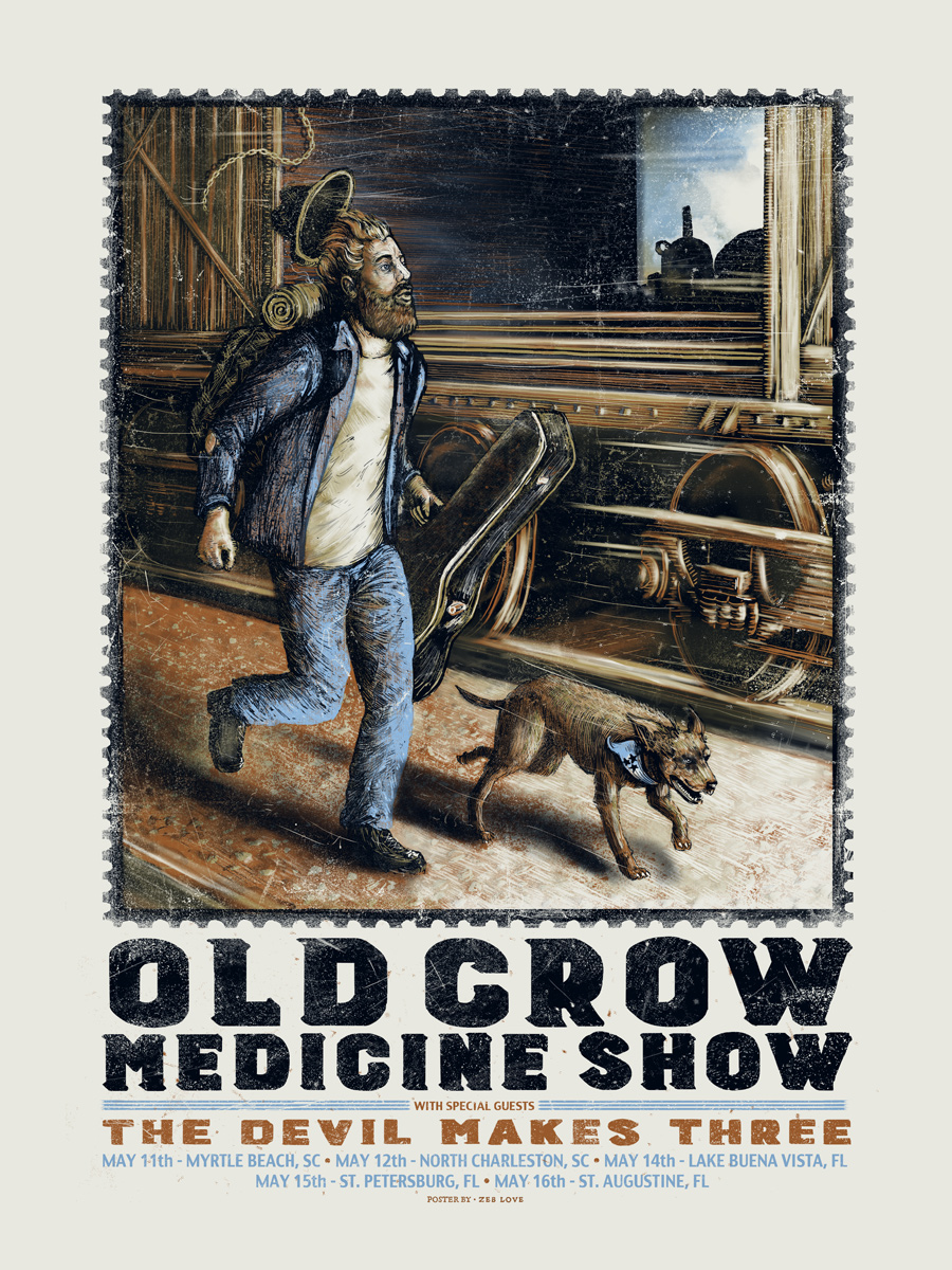 Old Crow (May Tour) - Ap Edition of - 13 - $35