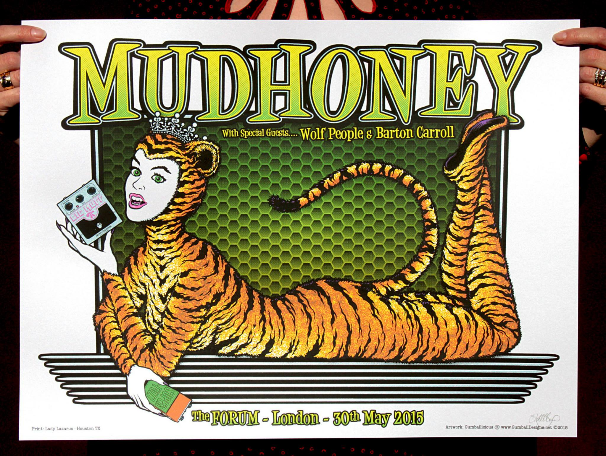 gumball Mudhoney - London, UK 2015