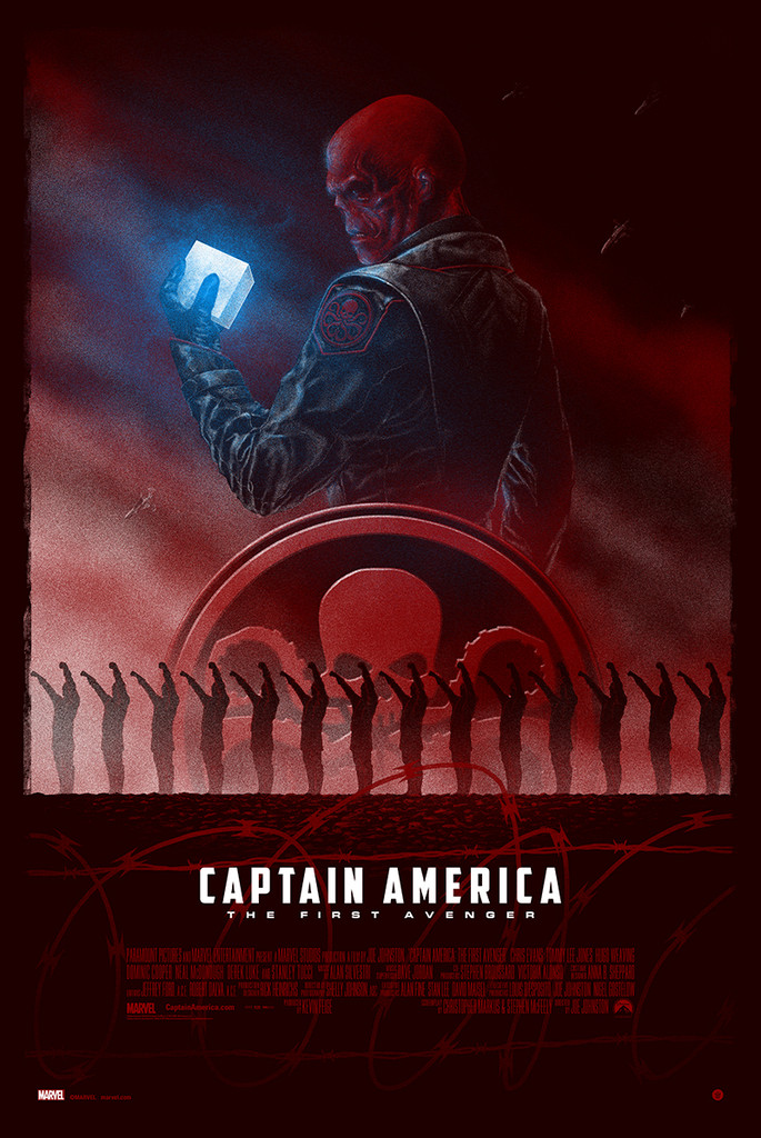 manev Captain America The First Avenger red skull