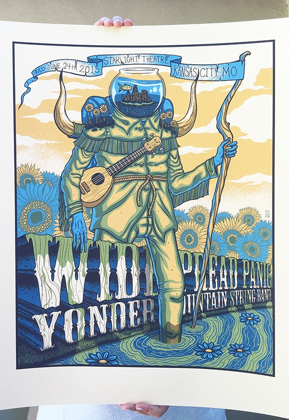 mazza Widespread Panic - Kansas City, MO 2015