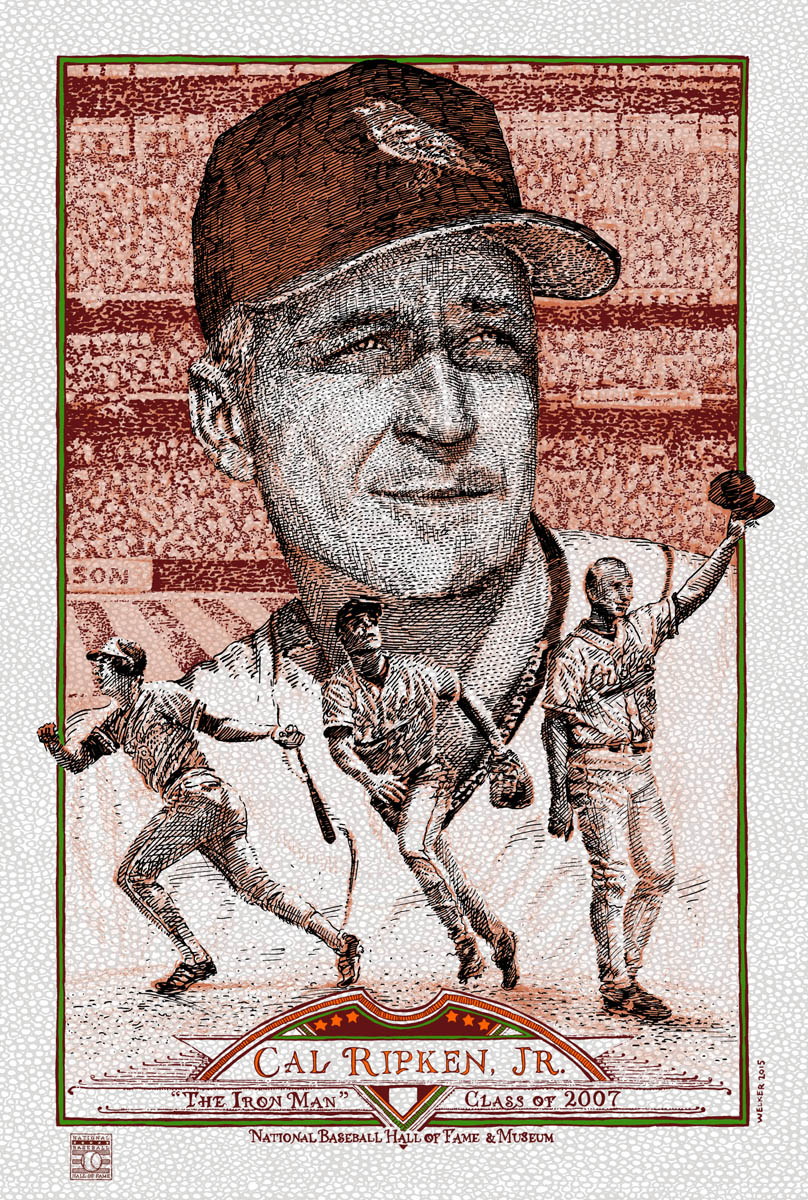 Cal Ripken Jr [V] by David Welker