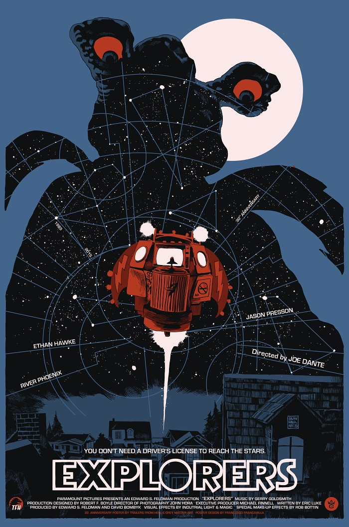 """Explorers"" by Francesco Francavilla.  24"" x 36"" Screenprint.  Ed of 150 N.  $45"