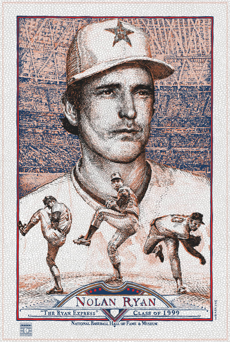 Nolan Ryan [V] by David Welker