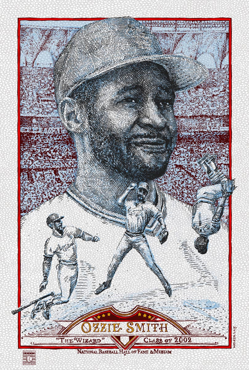Ozzie Smith [V] by David Welker