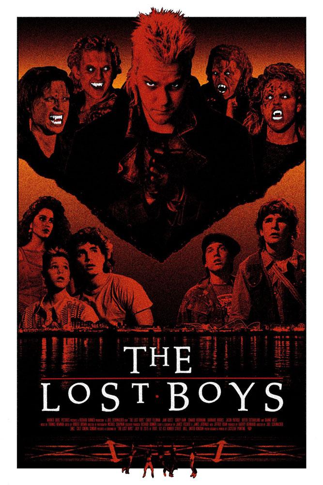 �the lost boys� by lastleaf printing 411posters