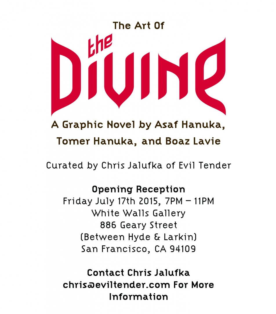 hanuka The Art of 'The Divine' 1