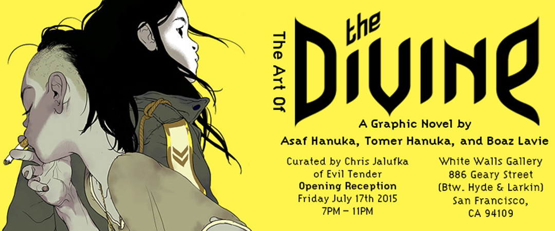 hanuka The Art of 'The Divine'