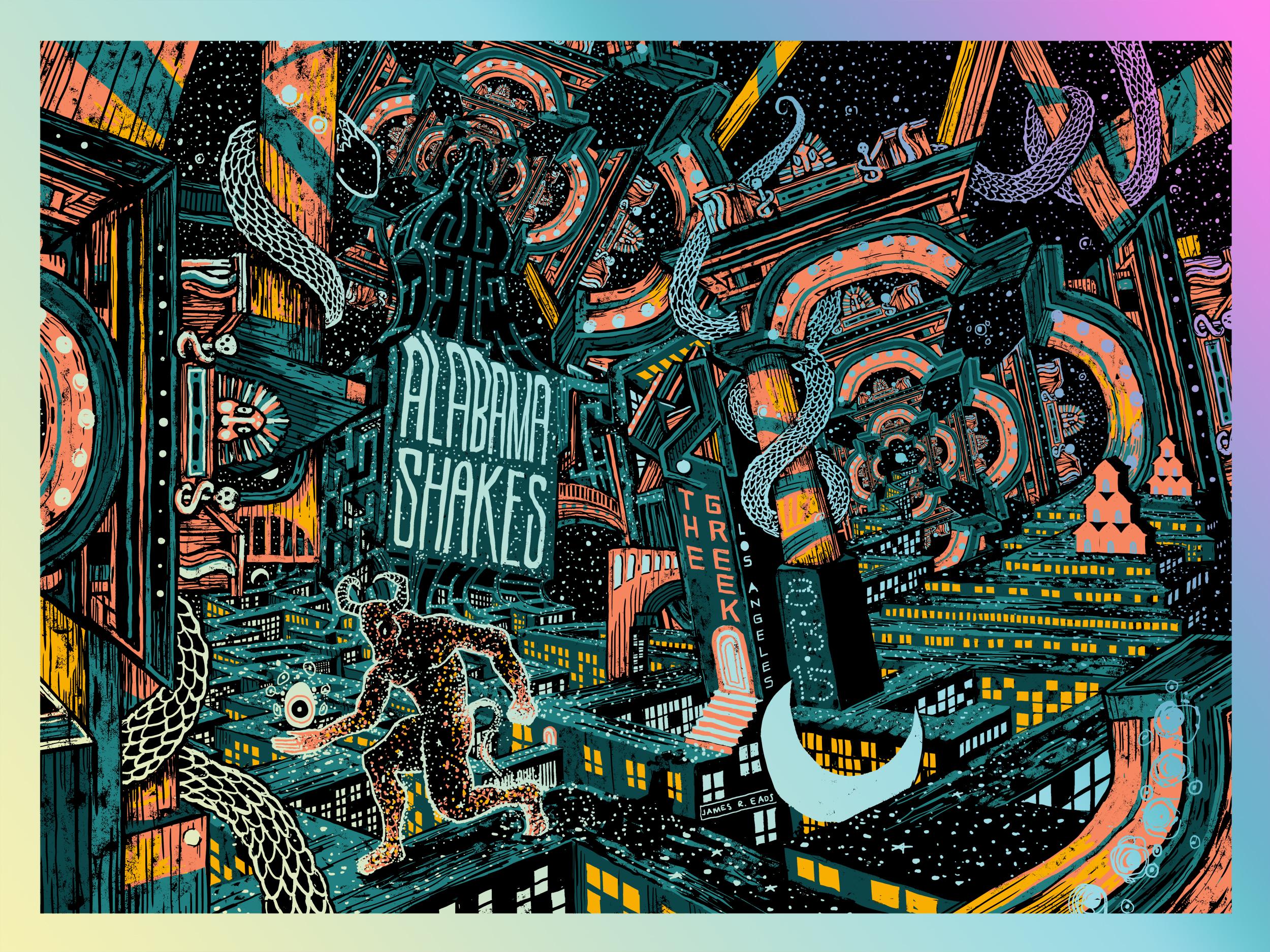 Alabama Shakes Tour Poster
