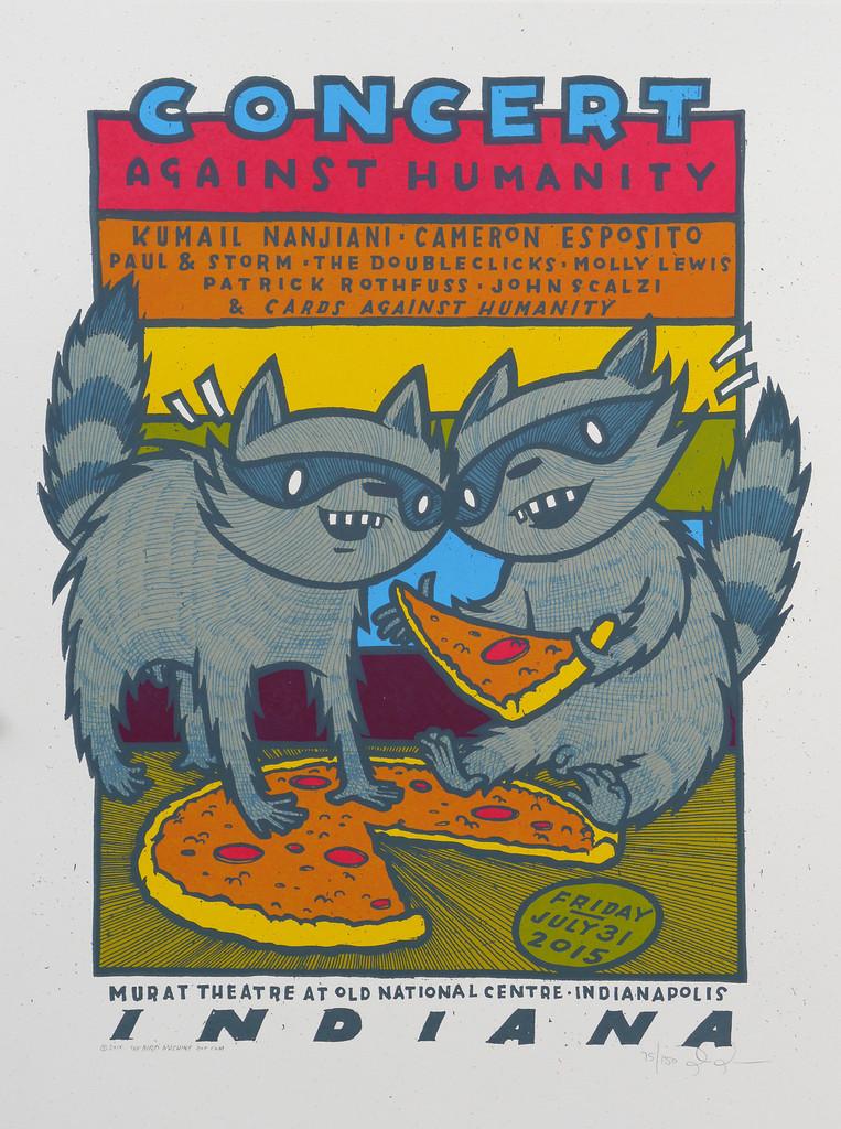 ryan Concert Against Humanity 2015