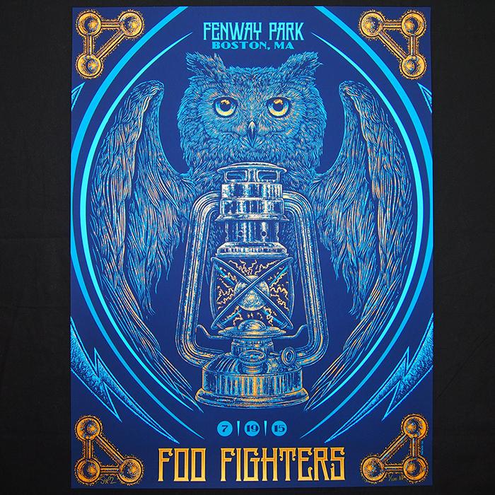 slater Foo Fighters - Boston, MA 2015