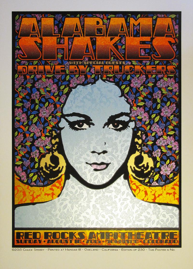 sperry Alabama Shakes - Morrison, CO 2015