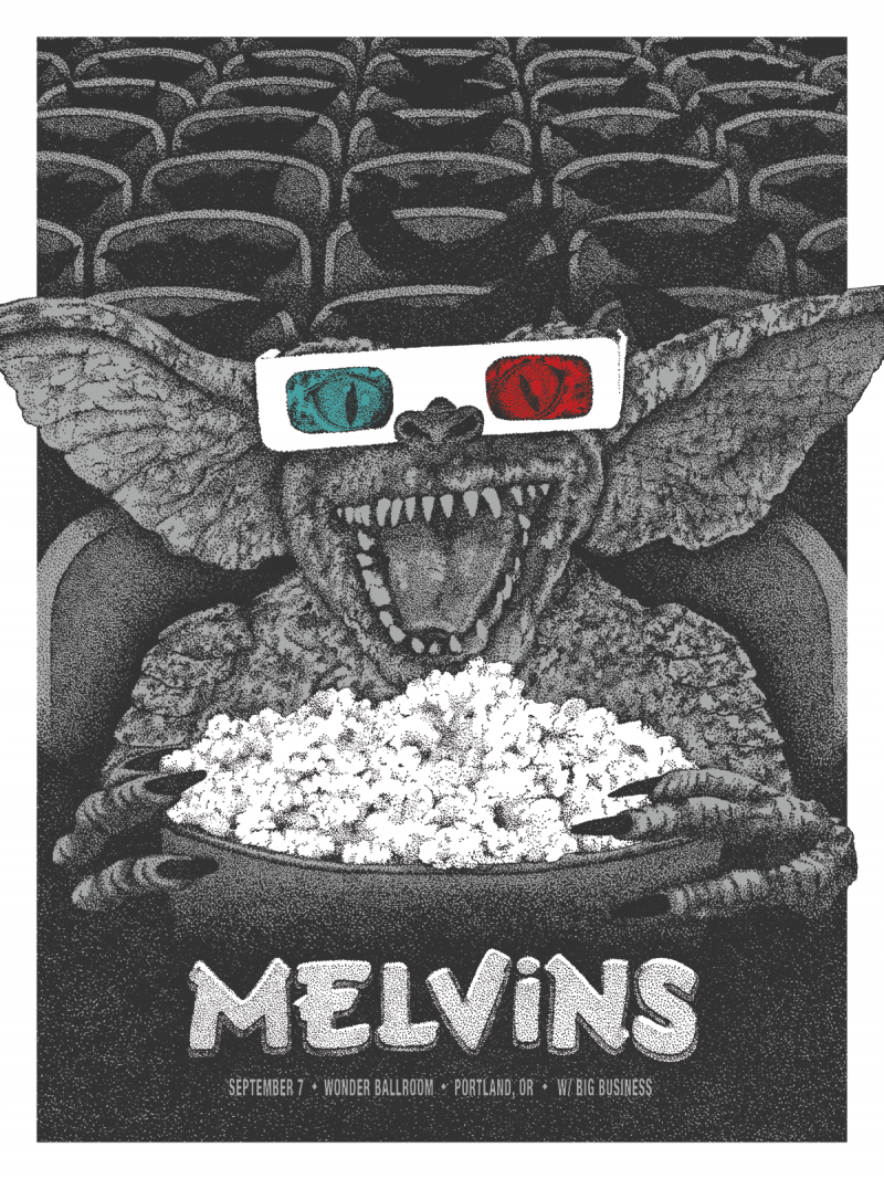 anonymous ink Melvins - Portland, OR 2015