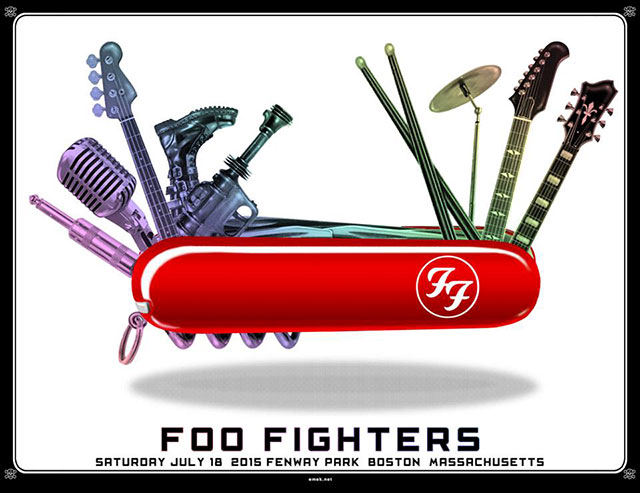 emek Foo Fighters - Boston, MA 2015