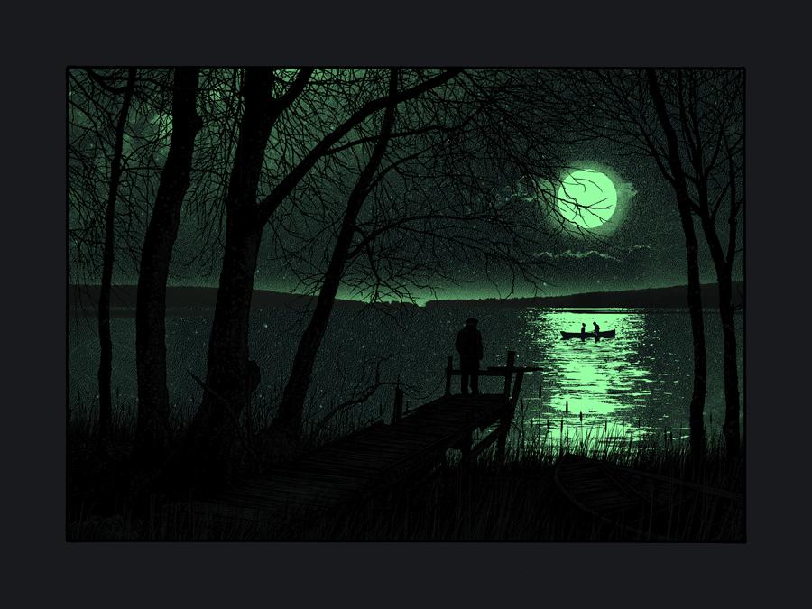 Image in the dark