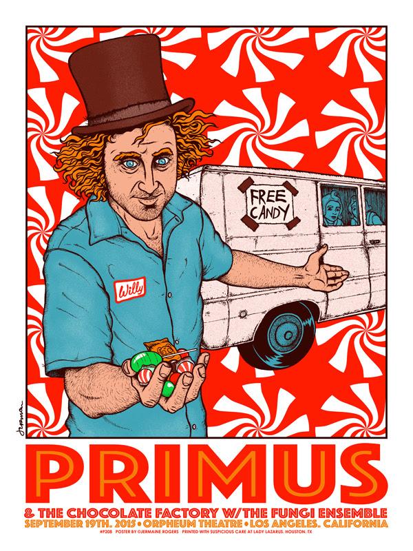 rogers Primus - Los Angeles, CA 2015