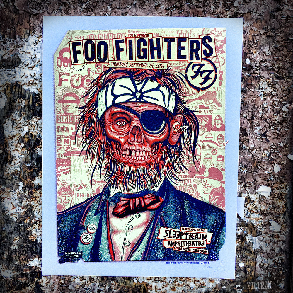 zoltron Foo Fighters - San Diego, CA 2015