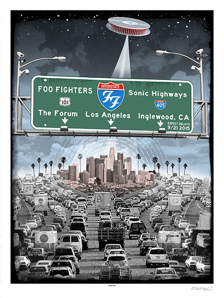 emek Foo Fighters - Los Angeles, CA 2015