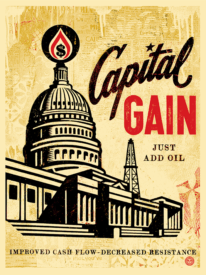 Capital Gain fine art