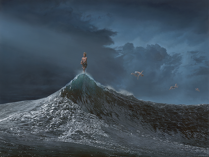 """The Precision of Luck"" by Joel Rea.  66 x 51cm Giclee.  Ed of 100 S/N.  $250"