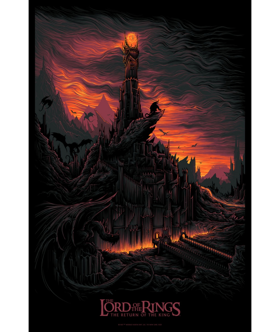 mumford return-of-the-king-screenprint-by-dan-mumford