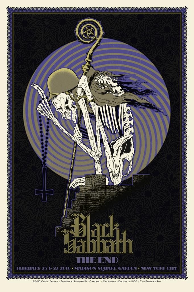 sperry Black Sabbath - New York City, NY 2016