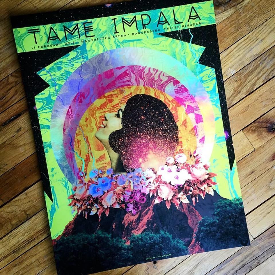 st Tame Impala - Manchester, UK 2016 foil