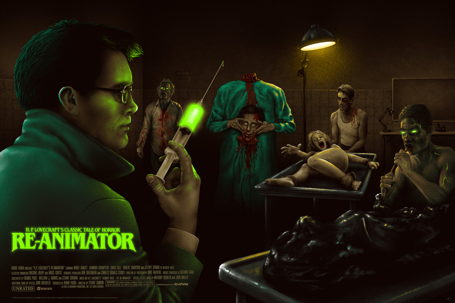 Re-Animator Turns 30 This Year, So Celebrate At Fright Rags!