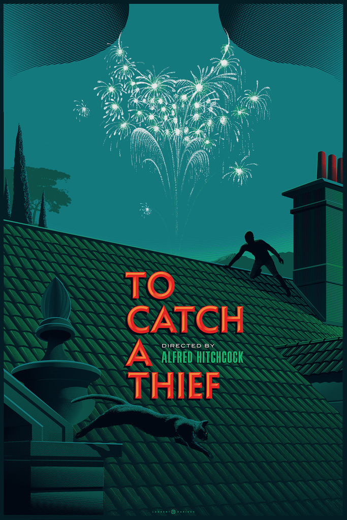 """To Catch a Thief"" by Laurent Durieux.  Variant"