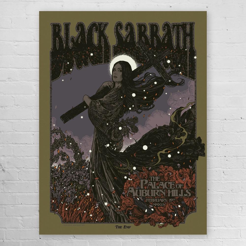 beckett Black Sabbath - Auburn Hills, MI 2016