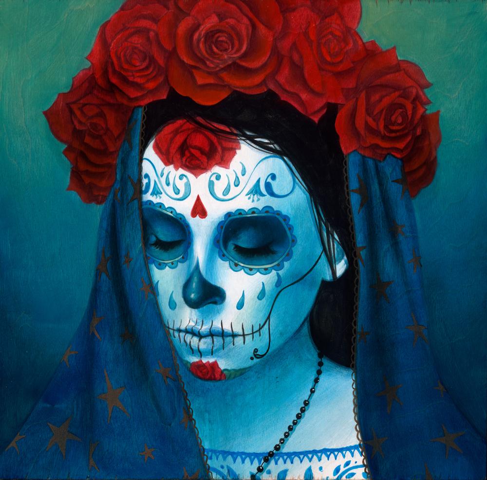 ji Catrina Sueño Azul