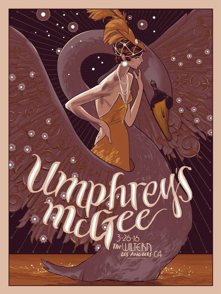 kelly Umphrey's McGee - Los Angeles, CA 2016 variant